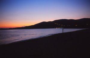 Sonnenuntergang Bucht von Sagone