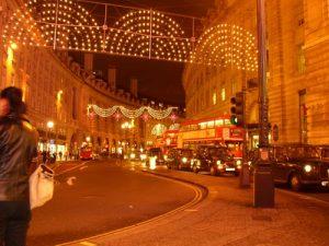 Nächtliche Regentstreet