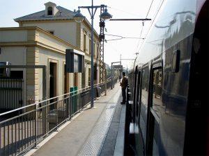 mit der RER gelangt man schnell in die City von Paris