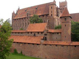 Malborg - Marienburg - die Deutschritterburg ist so groß wie 20 Fußballfelder