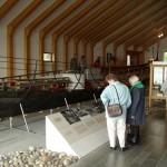 Haitabu - das Wikingermuseum mit dem geborgenen Schiff aus der Schlei