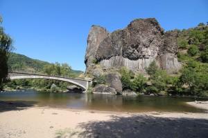 """Die """"Basaltorgeln"""" von Prades an der Allier"""