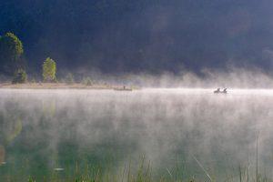 Morgenstimmung am Lac Genin