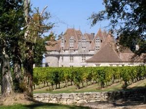 Monbazilliac - das Schloss gibt seinen Namen für die fantastischen Spätlesen dieses Gebietes
