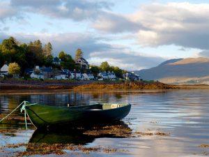 Abentstimmung in Lochcarron