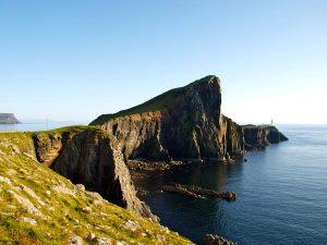 Neist Point Lighthouse - der Leuchtturm am westenlichen Ende von Skye ist ein Hotel