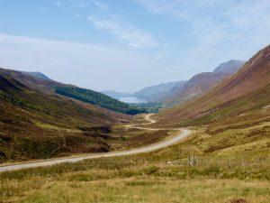 Blick auf das Glen Torridon, Highlands