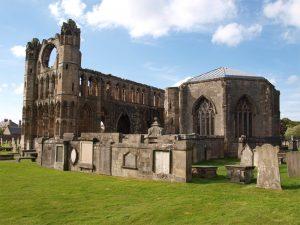 Ruine der Kathedrale von Elgin, Moray