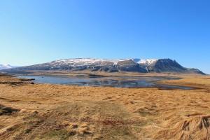 Naturwelt Island 2015 nahe Lyngholt bei Taumwetter...