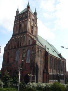 die Jakobikirche, erbaut 1187