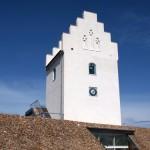 """einst die Kirche von Vesterø, nun die Heimat der """"Læsø-Kur"""""""