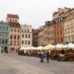 die historische Altstadt von Warschau wurde wieder aufgebaut