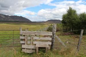 Rund um Newtonmore gibt es zahlreiche Wanderrouten, Foto © hmg 2012
