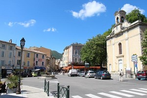 Im Stadtzentrum von Dieulefit