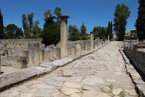 Vaison la Romaine: mit die größte Archäologische Fundstätte römischer Kultur