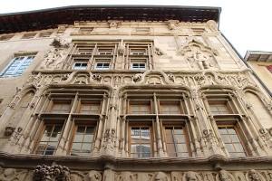 das Maison des Tetes in Valence