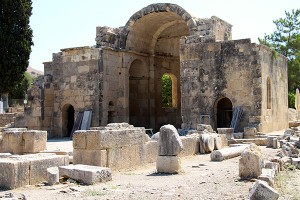 Die Titus-Basilika - sie stammt aber aus dem 6. Jahrhundert