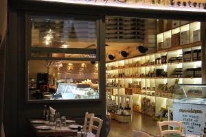 Blick in die deli&eatery in Heraklion