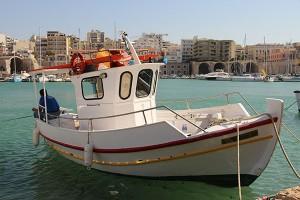 beschauliche Ruhe im alten venezianischen Hafen von Heraklion