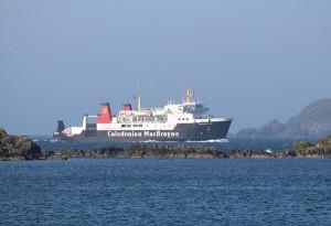 Calmac Ferries bietet einen sehr guten Service
