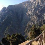 Einstieg in die Samaria-Schlucht