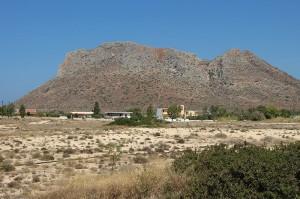 """Weltberühmte Kulisse Dank """"Alexis Sorbas"""": Stavros nordöstlich von Kreta."""