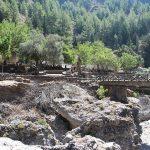 Samaria Dorf, mitten in der Schlucht