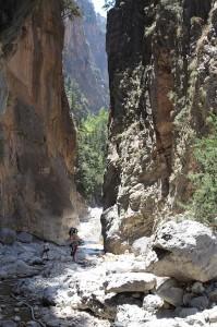 Wanderung und die imposanten Steilwände genießen