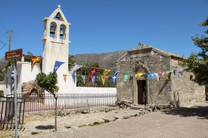 "Die ""Church of Panayia"" in Thronos"