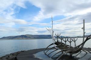Sæbraut in Reykjavik