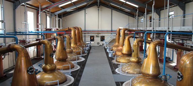 Whisky Distilleries in Schottland