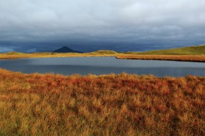 Am Lake Myvatn
