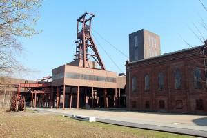Schacht 1/2/8 (Bereich B) der Zeche Zollverein