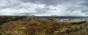Þingvellir - der Panoramablick