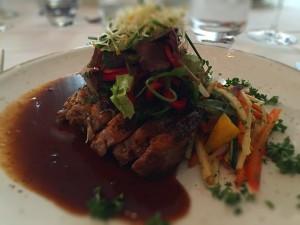 Isländische Lamm auf Art des Hauses im Hotel Örk