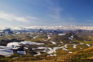Blick auf Álftavatn von 1200 m