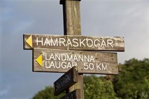 Laugavegurinn Wanderweg: noch 50 km bis Landmannalaugar
