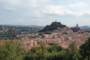 Le Puy en Velay, Startpunkt für den Jakobsweg durch das Margeride