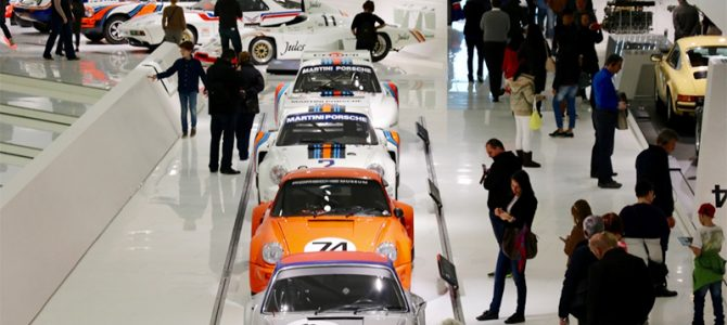 Historie hautnah: Das Porsche-Museum in Stuttgart