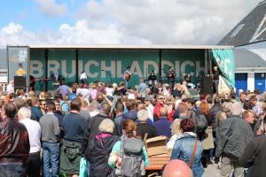 Festivaltag bei Bruichladdich - traditionell am ersten Sonntag des Feis Ile und in der Regel immer gutes Wetter!