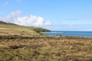 Der Rhuvaal Leuchtturm an der Nordspitze von Islay ist nur zu Fuß und mit festem Schuhwerk erreichbar.