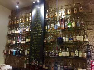 Die Whisky-Bar des Aracade kann sich sehen lassen. Foto: Hans-Martin Goede