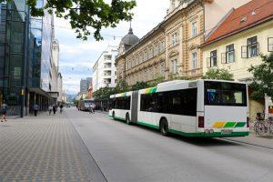 Elektrobusse in Ljubljana