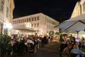 Nachtleben von Ljubljana