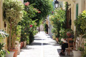 Die Altstadt von Rethimno mit ihren verwinkelten Gassen ist sehr sehenswert.