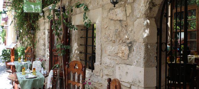 Restaurantempfehlung: das PIGADI in Rethymno (Kreta)