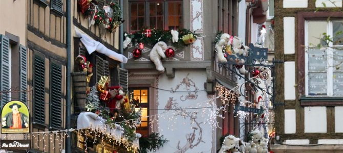 In der Weihnachtshauptstadt Strassburg