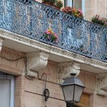 Balkonien a la Art deco in Toulouse