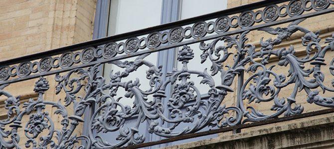 Art deco – Jugendstil Balkone in Toulouse