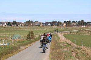 Amrum verfügt über ein sehr gut ausgebautes Rad- und Fußwegenetz